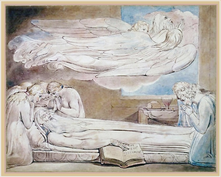 A good               death - William Blake